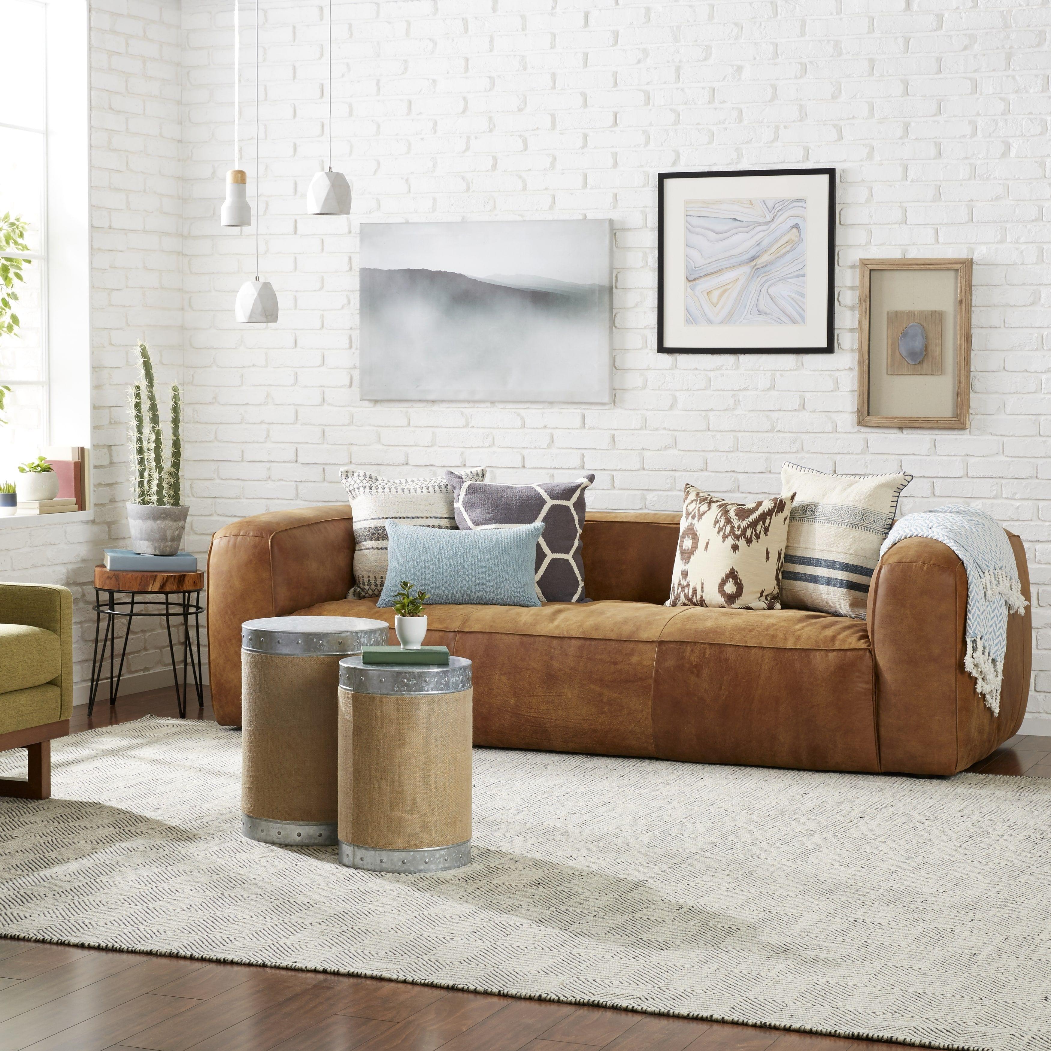 Diva Outback Bridle Italian Leather Sofa | Overstock.com Shopping ...