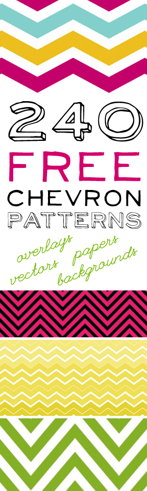 Free Chevron Patterns!