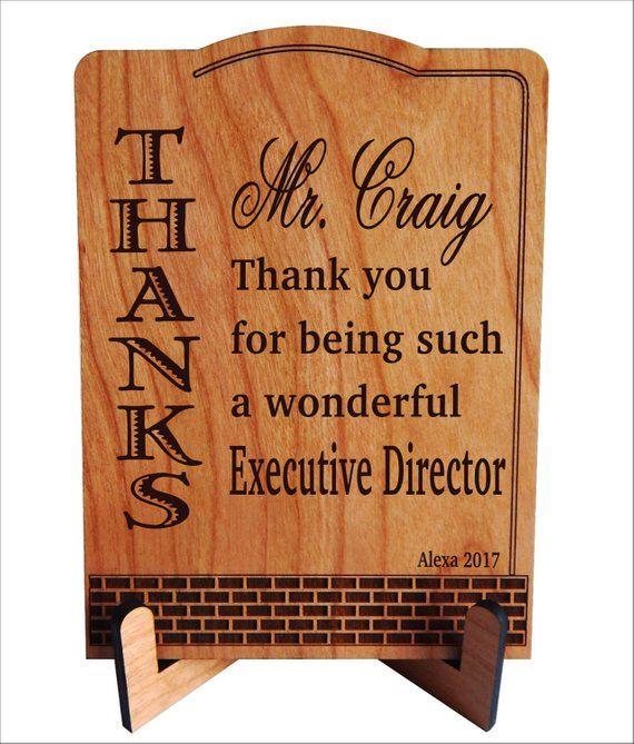 Personalized Boss Gift