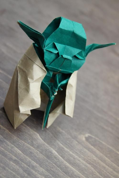 Origami Yoda.. instructions, you will not find....