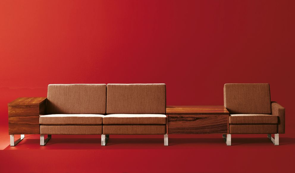Eiermann felt the ostentatious was highly suspect 60s furniture
