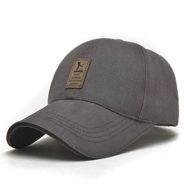 356ce5c6c99 Men Cotton Baseball Cap Sports Golf Snapback Outdoor Sports Sunscreen Hats