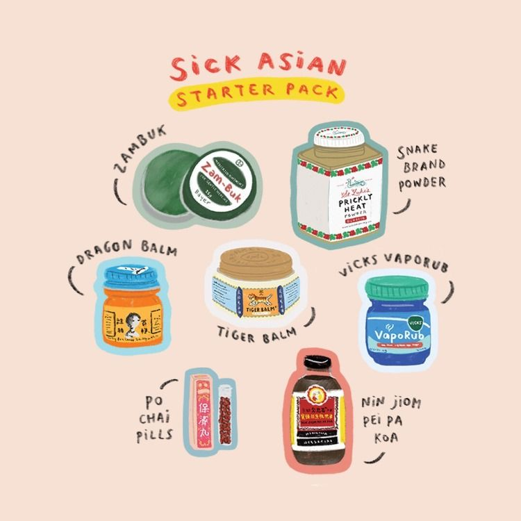 Asian medicine and treatment starter pack