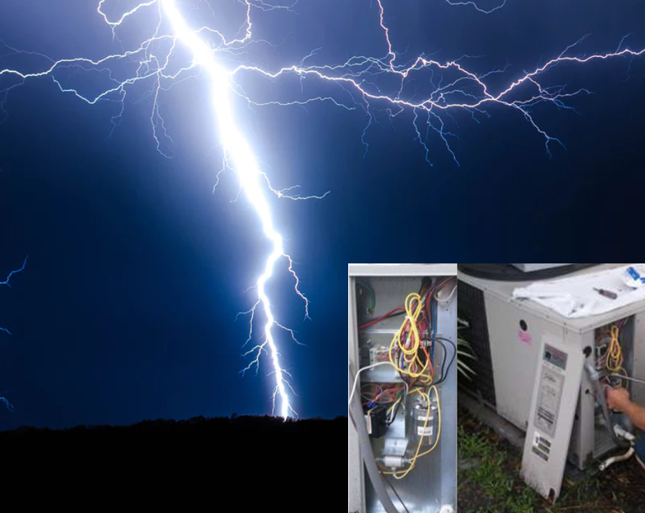 Surge Protectors For Your A C Unit Is Your Hvac System Ready For The Next Big Storm Or Even A Routine Home Power Surge With Images Surge Protectors Protector Hvac System