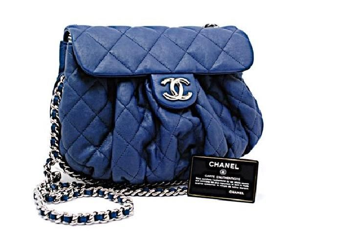 2c52aaf18277 The Chanel Navy Lambskin Shoulder Bag is a top 10 member favorite on Tradesy .
