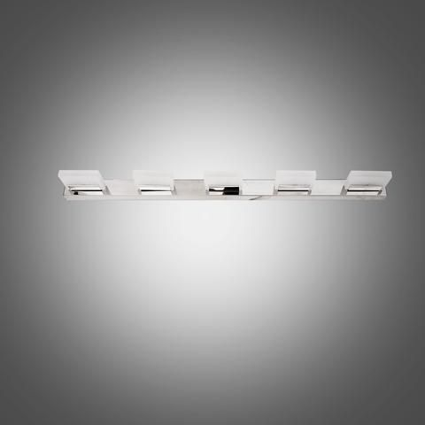 Unitary Brand Modern Led Vanity Light Max 3w With 5 Lights Chrome