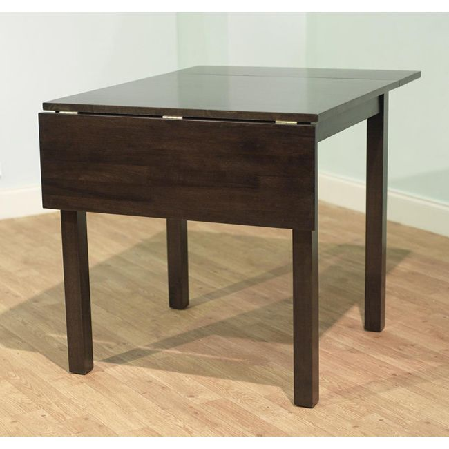 Fit A Necessary Place To Sit Into A Small Space With This Compact Wood Drop  Leaf