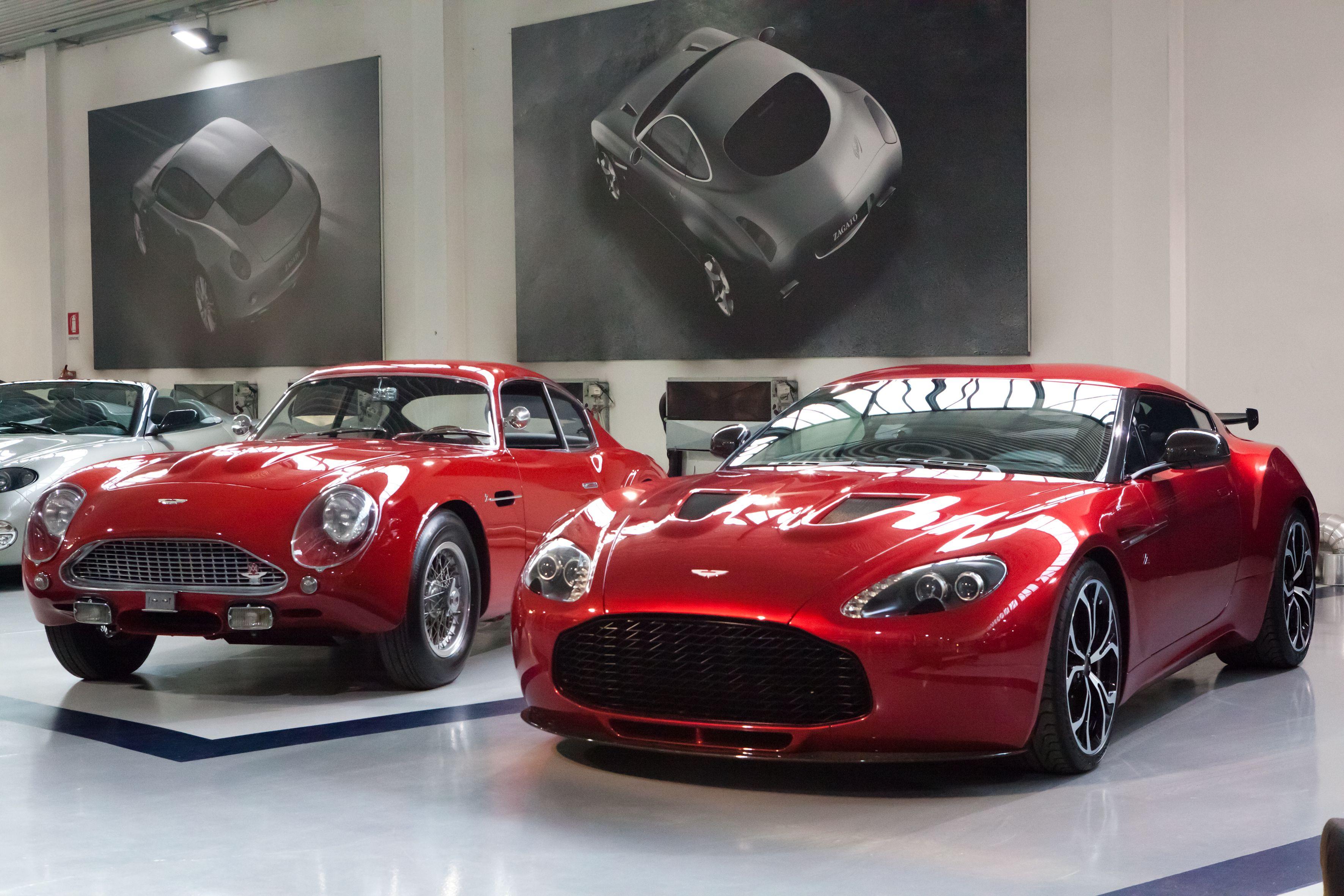 Aston Martin DB4GT Zagato & V12 Zagato