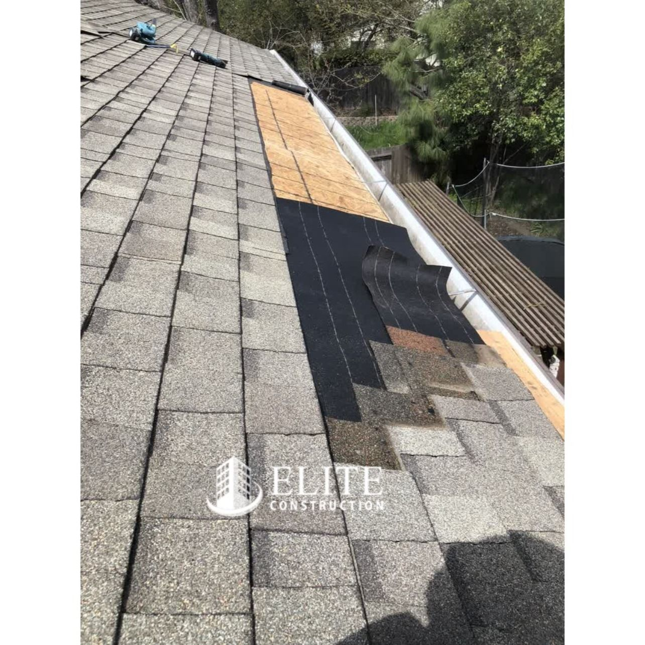 Roof Covering And Rsp Plywood Roof Sheathing Dry Rot Damage Repair In 2020 Roof Sheathing Gutters Roof Covering