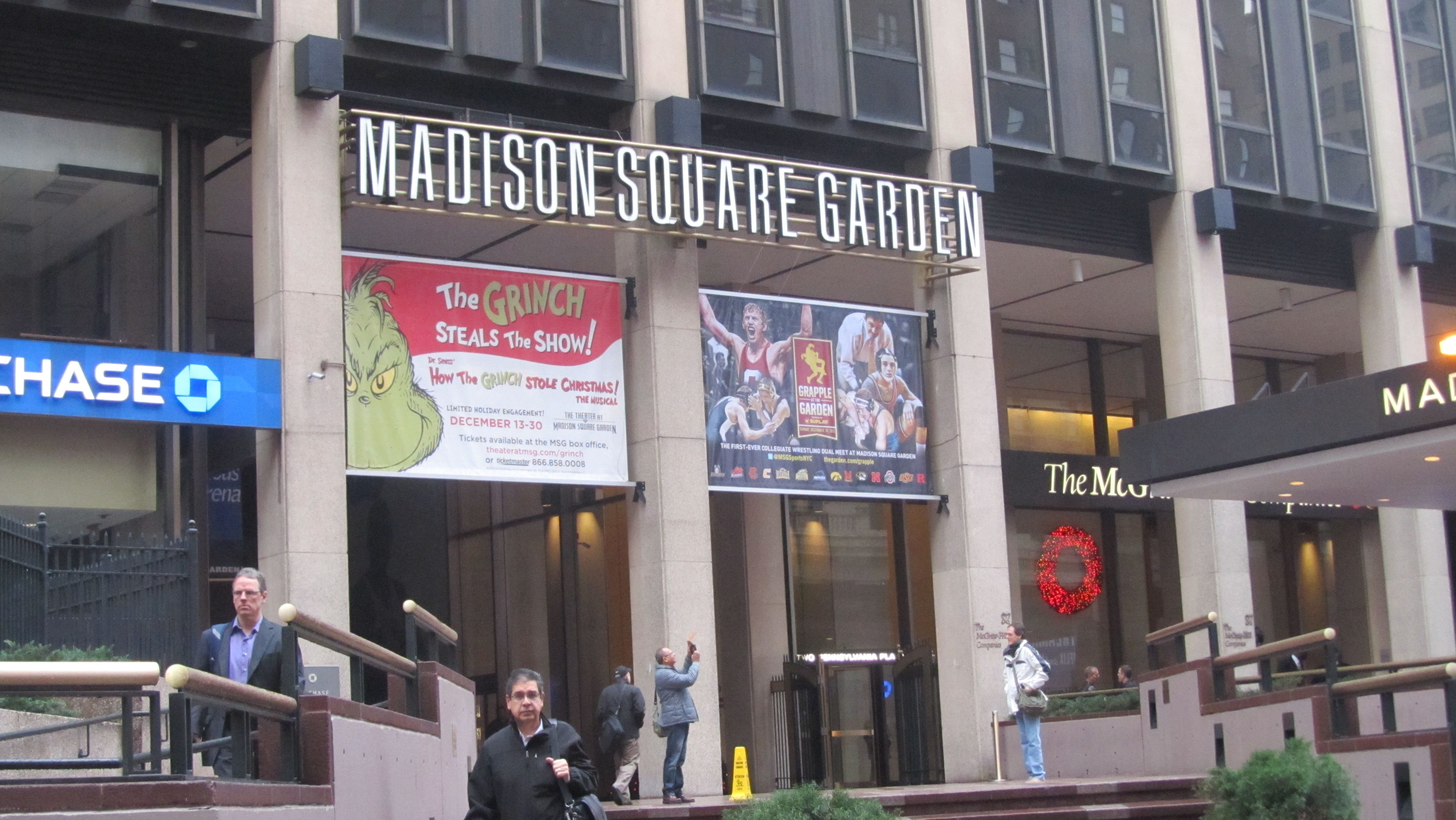 Main Entrance To Madison Square Garden Manhattan Pinterest Main Entrance