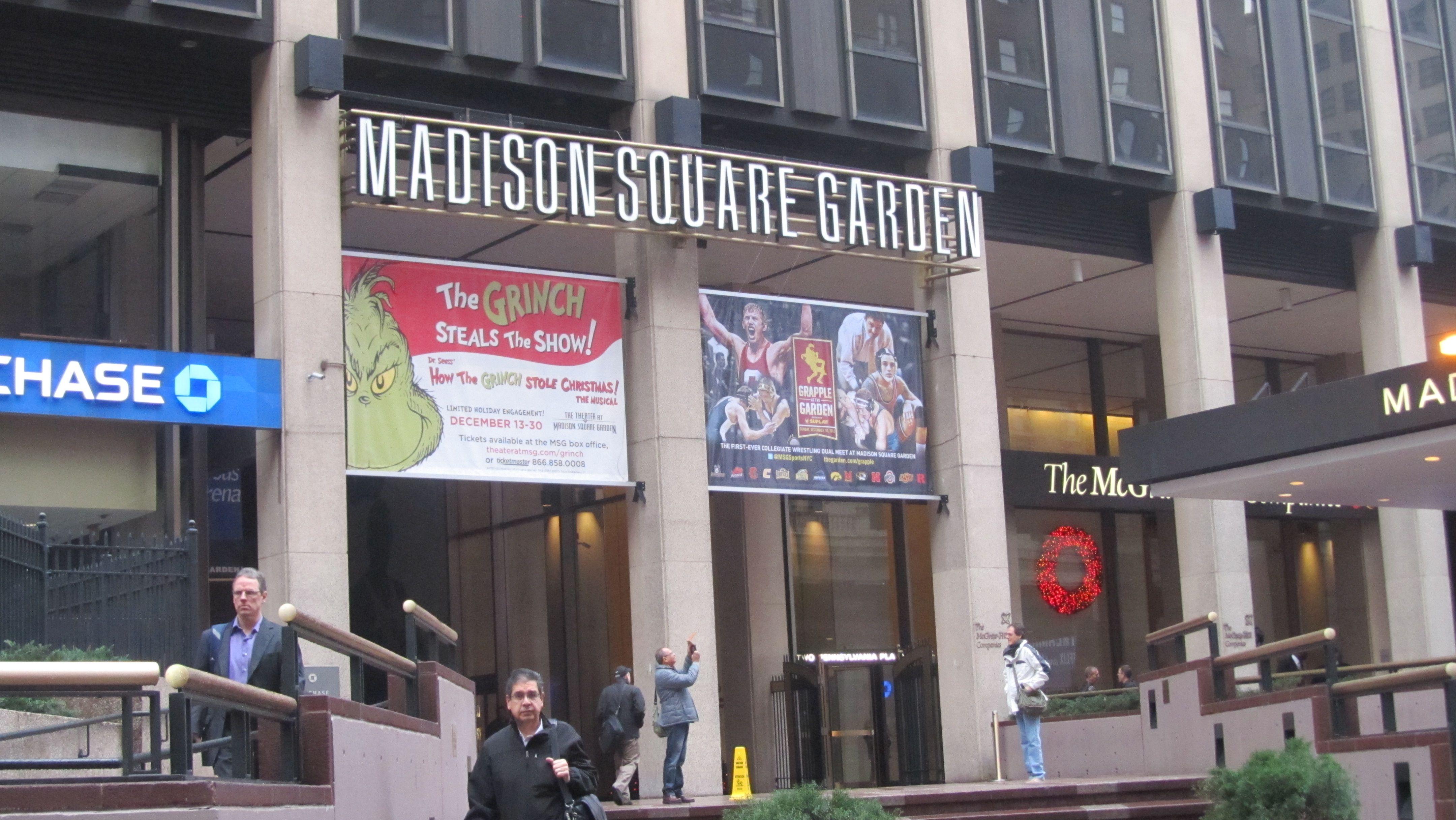 Main Entrance To Madison Square Garden Manhattan Pinterest Main Entrance