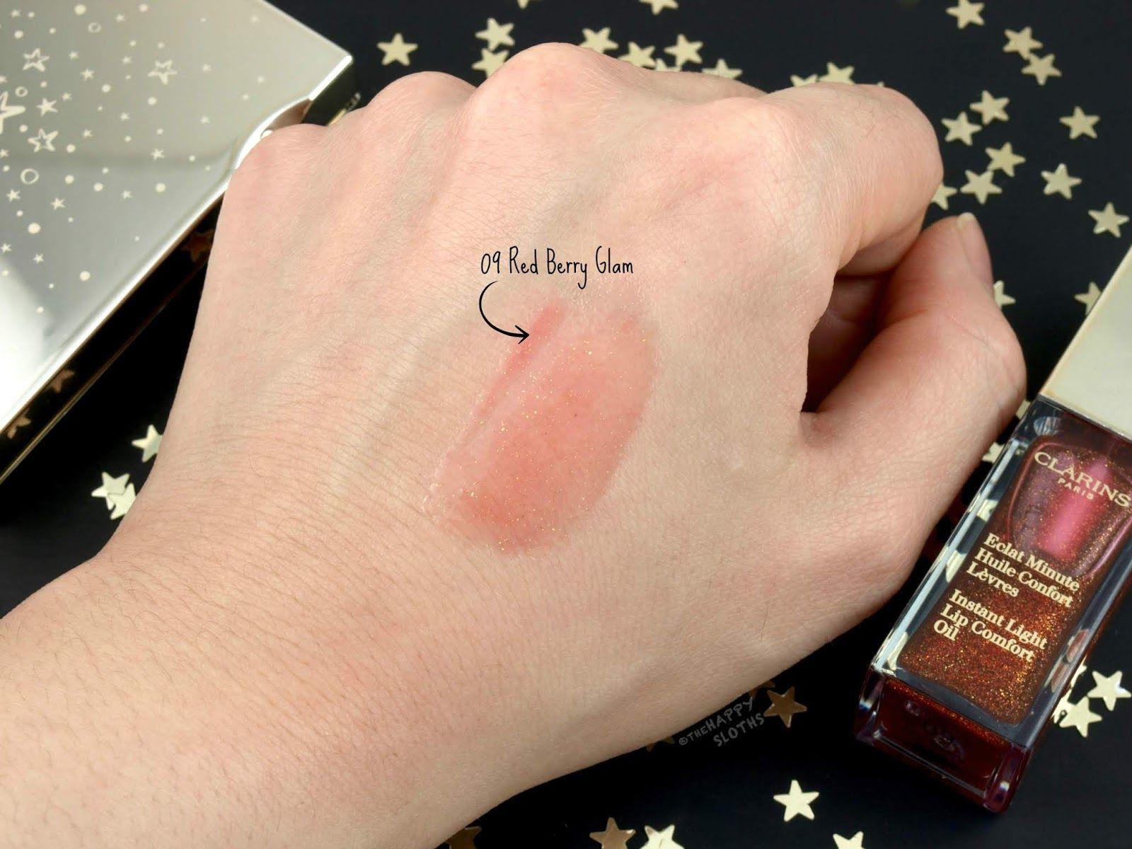 Clarins Lip Oil Swatches