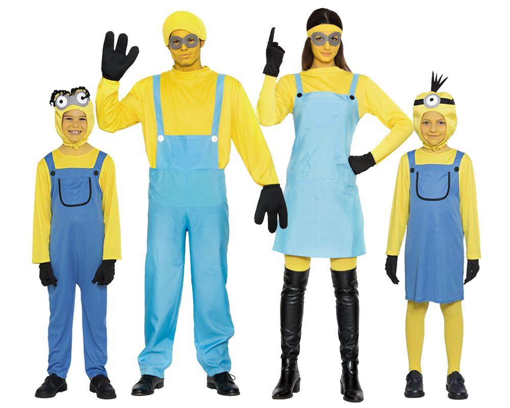 Grupo familia minions disfraces carnaval - Difraces para carnaval ...