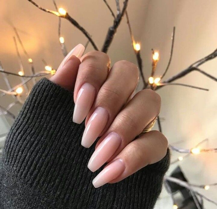 I like how natural and clean these nails look! | Beauty & Nails ...