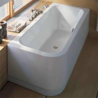 Duravit 700017000000090 Happy D. Corner Right Soaker Tub 70 7/8\