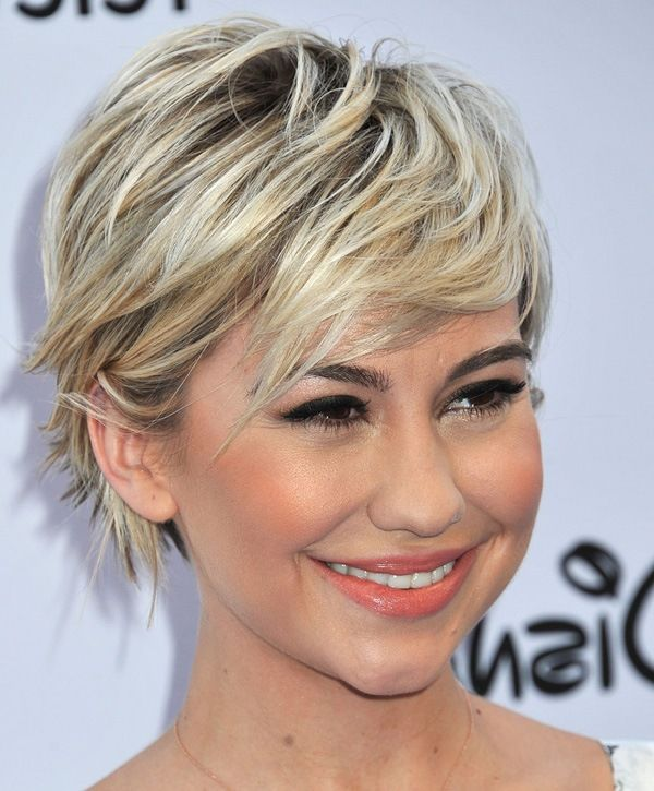 Pin By Erin Hancock On Hair Pixie Long Chelsea Kane Short Hair Hair Styles Short Hair Styles