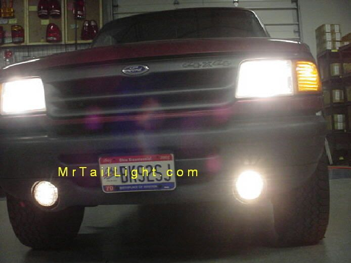 93 Up Ford Ranger High Beam Fog Light Kit Turns Fog Lights On W High Beams Ford Ranger Ranger High Beam