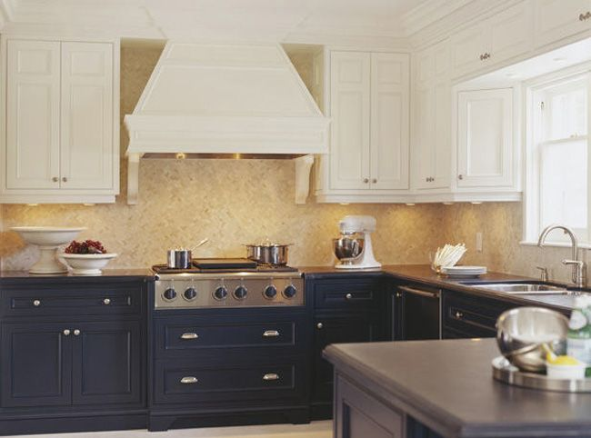 Upper And Lower Cabinetswhite Black White Cabinets