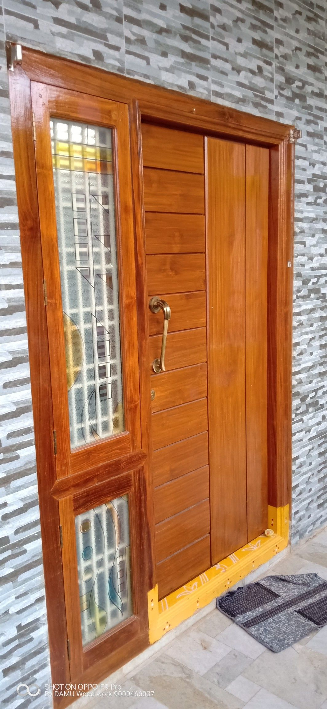 Pin By Radha Krishnan On Radhakrishnan Front Door Design Wood