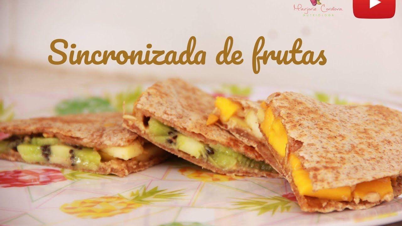 NutriReeta: Sincronizada de Frutas por (Marjorie Cordova)