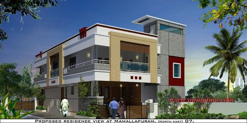 Parapet wall designs google search residence for Simple house elevation models