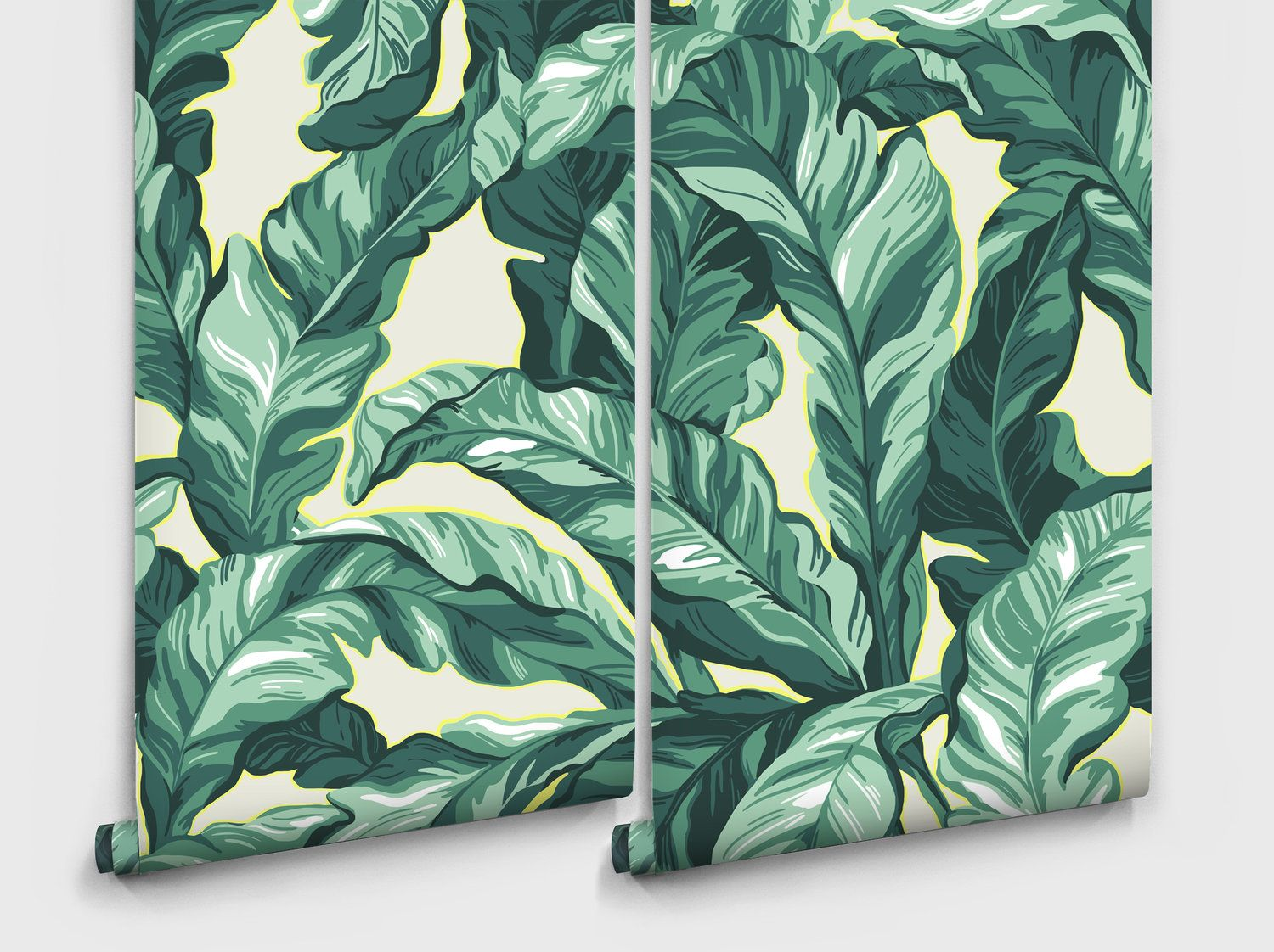 Palm leaf removable wallpaper (With images) Removable