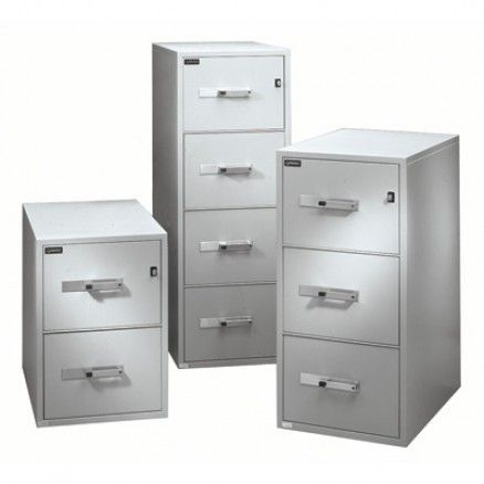 Gardex GF 400   Vertical Fire Safe Cabinet   4 Drawers. Available For Online