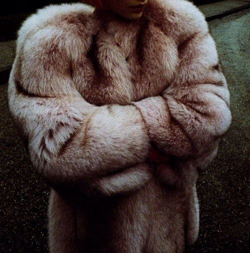 Fashion can be bought. Style one must possess. (c) #fashion #style #fur