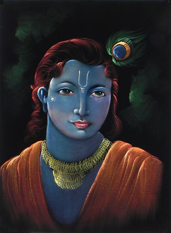 Lord Krishna in 2019 | Lord Śrī Kṛṣṇa | Krishna painting, Lord