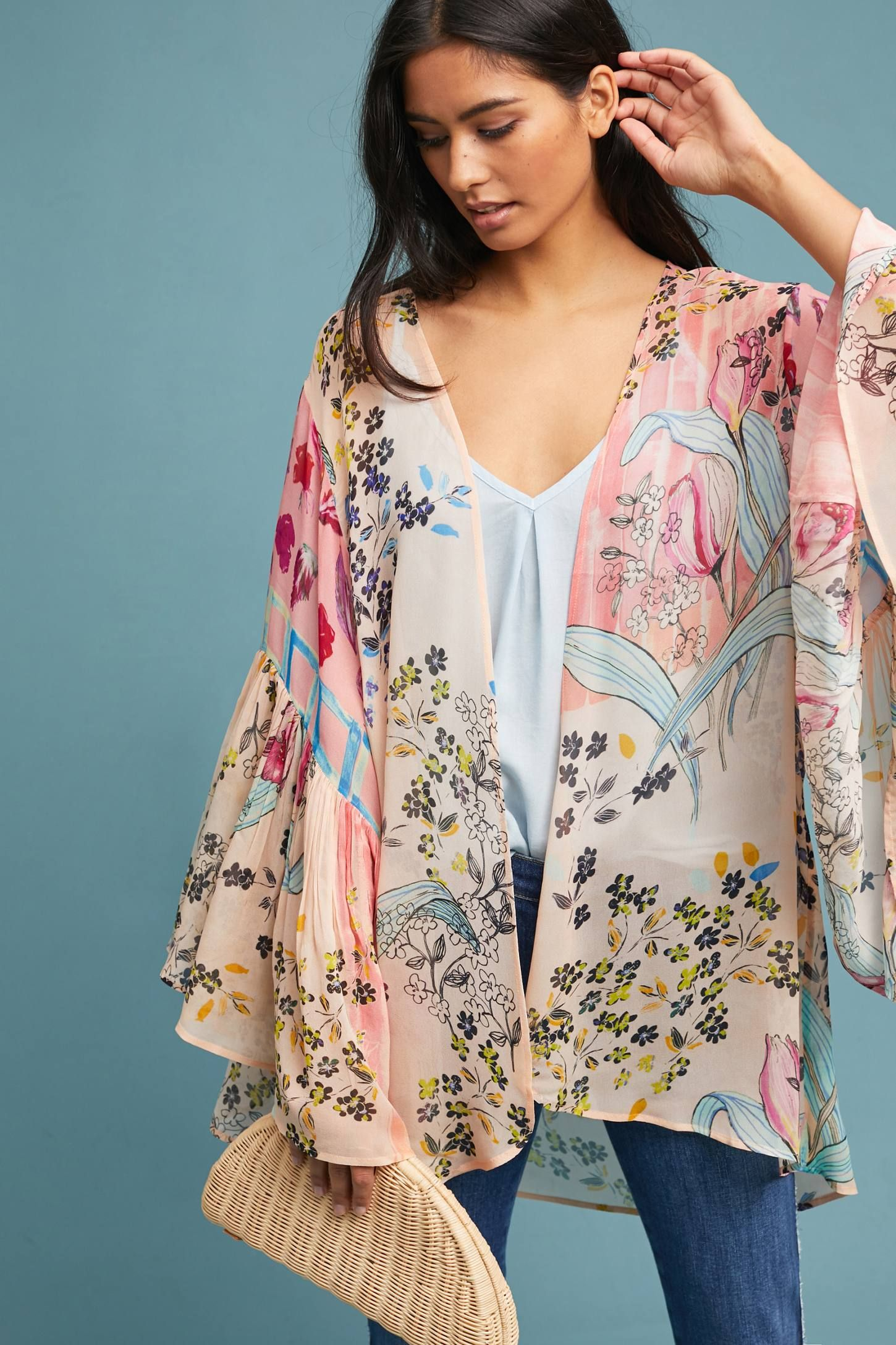 2385266153 Shop the Jordin Floral Kimono and more Anthropologie at Anthropologie  today. Read customer reviews, discover product details and more.