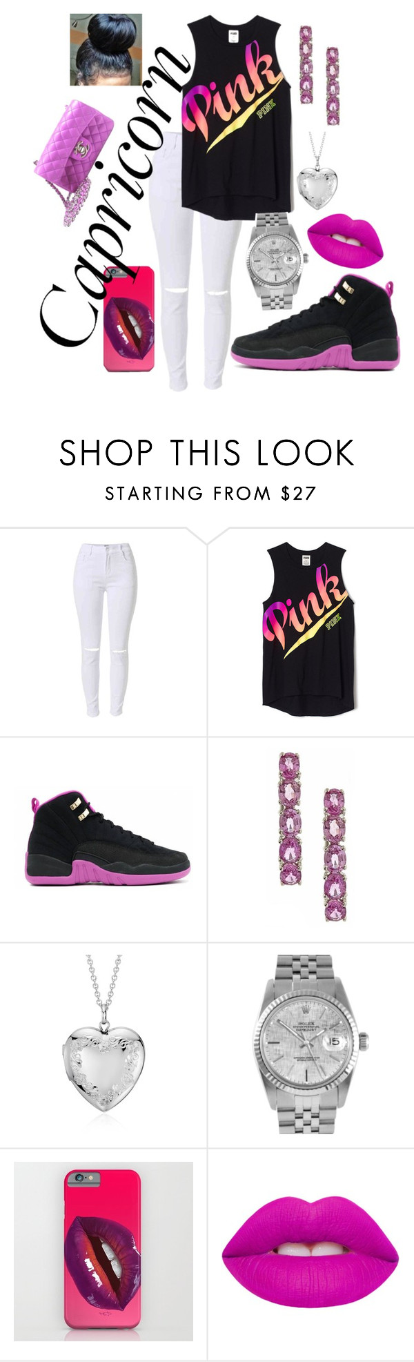 """"""""""" by laaniii ❤ liked on Polyvore featuring Anika and August, Blue Nile, Rolex, Lime Crime, Chanel, fashionhoroscope and stylehoroscope"""