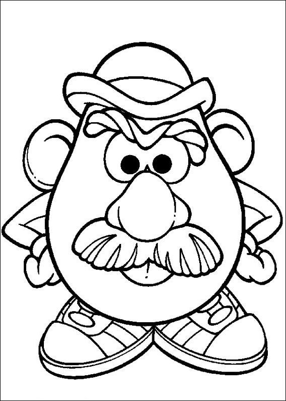 The Incredible Beautiful mr potato head coloring pages - http ...