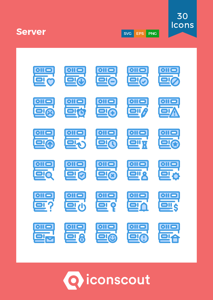 Download Server Icon Pack Available In Svg Png Eps Ai Icon Fonts Icon Pack Icon Server