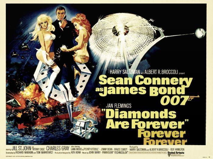50 Anos De James Bond Todos Os Posters De 007 James Bond