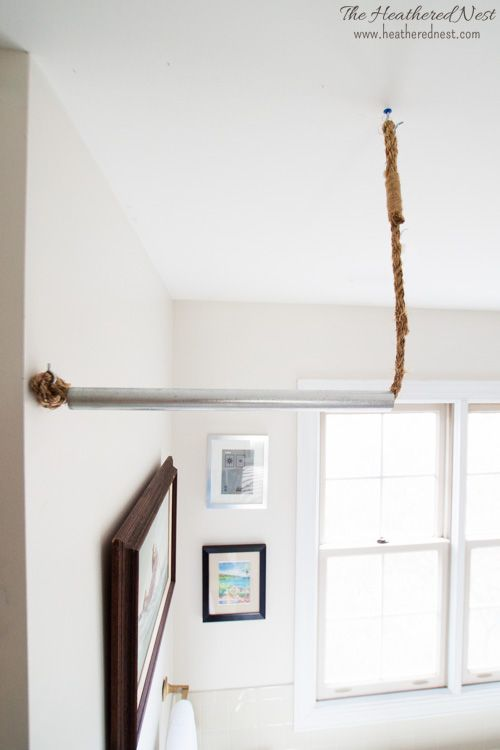 Here S How To Make Your Own Diy Curtain Rod In 10 Minutes Diy