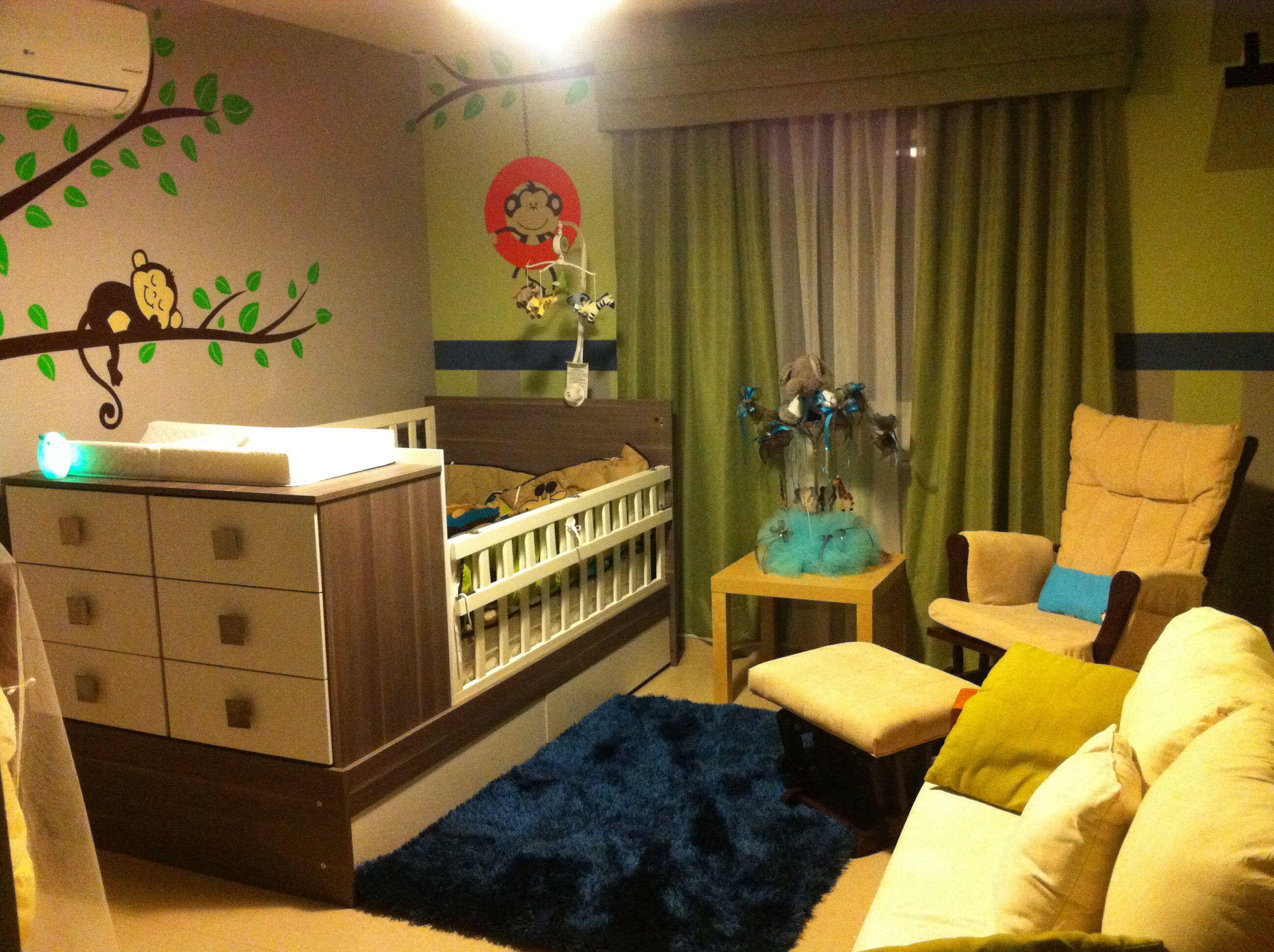 Decoraci n de pared cuarto del bebe bba pinterest - Decoracion habitacion del bebe ...