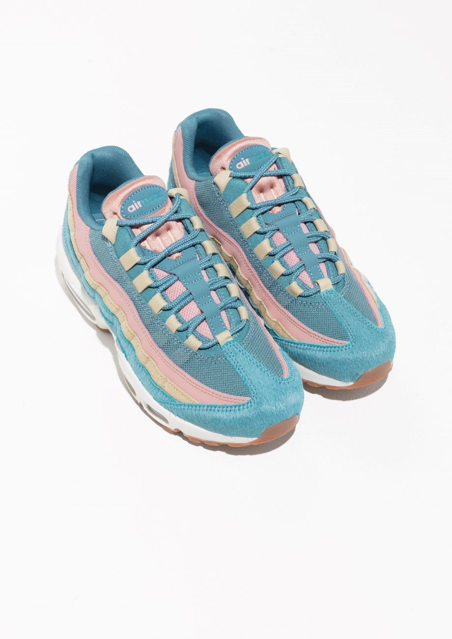 the best attitude 45950 17302 Other Stories image 2 of Nike Air Max 95 LX in Blue   Pink