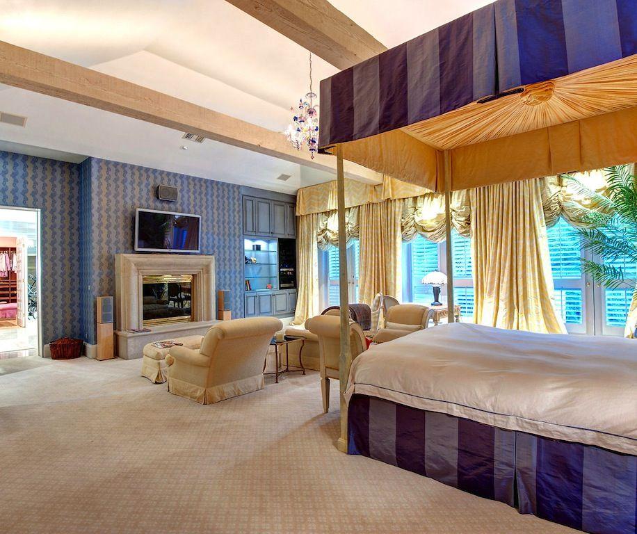 Exquisite Mediterranean Estate 11 500 000 Luxurious Bedrooms Beautiful Bedrooms Mansions Luxury
