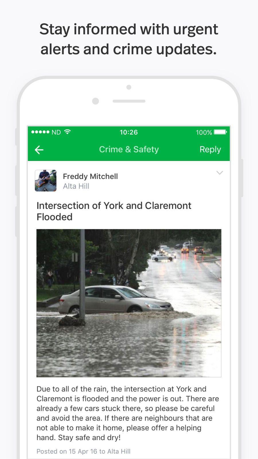 Nextdoor Neighborhood App