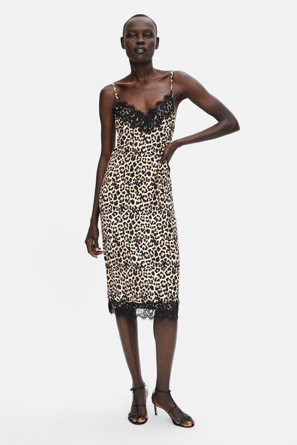 032e9183 VESTIDO LENCERO | ReRe | Dresses, Fashion dresses, Animal print outfits