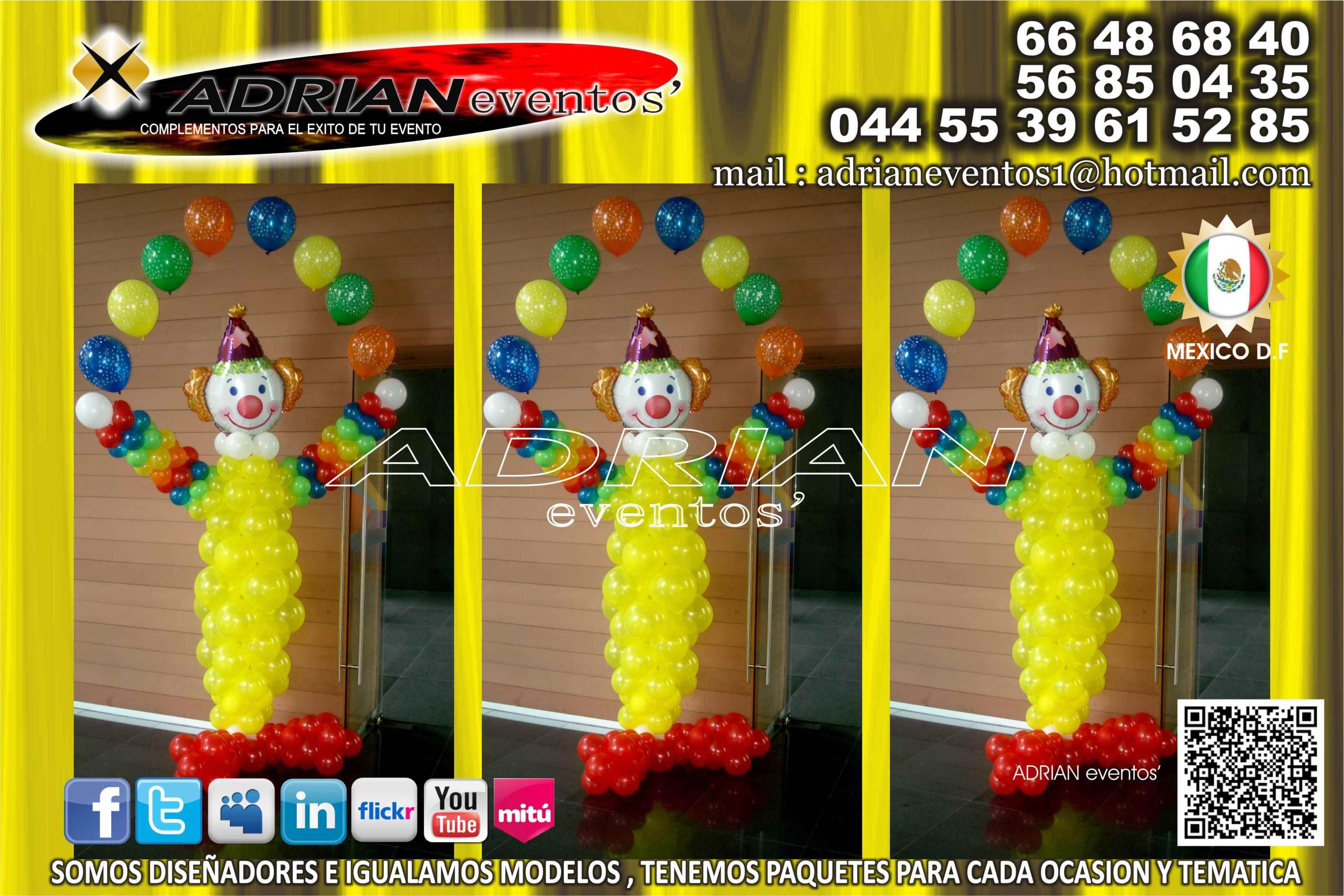 Decoracion con globos para fiestas infantiles decoracion for Decoraciones para fiestas