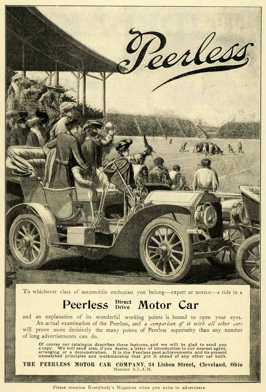 THE PEERLESS PEERLESS Peerless Motor Car Co, Cleveland, 1905 ...