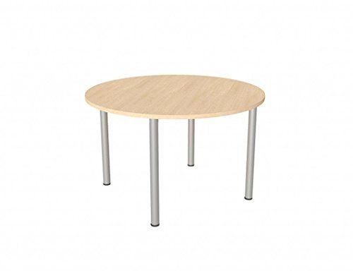 Bureau éléphant premium ronde table de réunion de pieds en hêtre