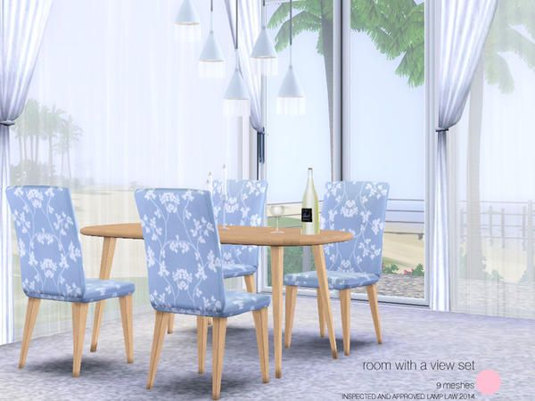 View Set Modern And Contemporary Dining Room By DOT