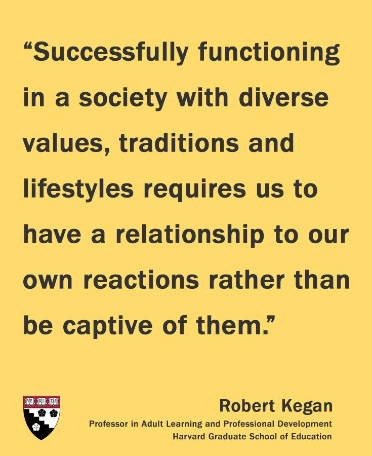 Robert Kegan, Professor in Adult Learning and Professional Development,  HGSE #hgse Pinned from @harvarded
