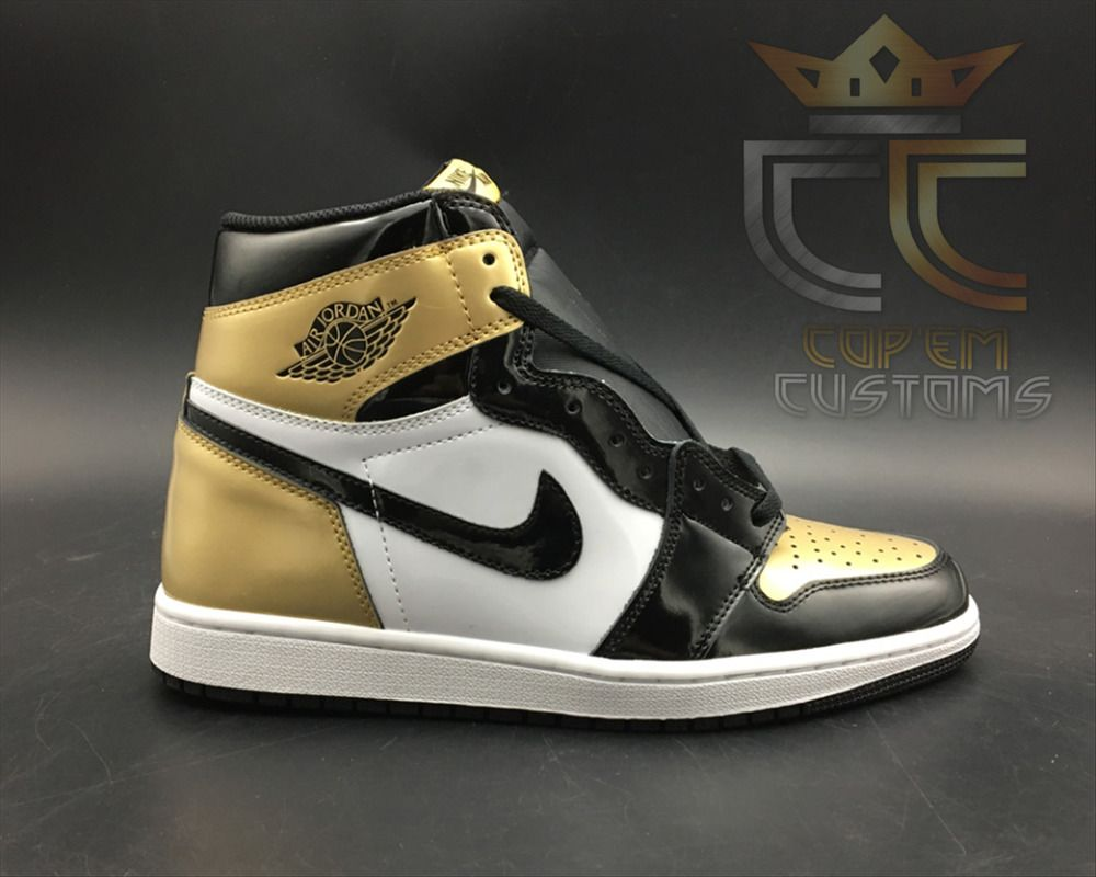 8b7120ea65bf NEW   IN HAND Air Jordan 1 Retro High OG NRG  Gold Toe  MENS SZ 11-12  861428 007  Nike  BasketballShoes