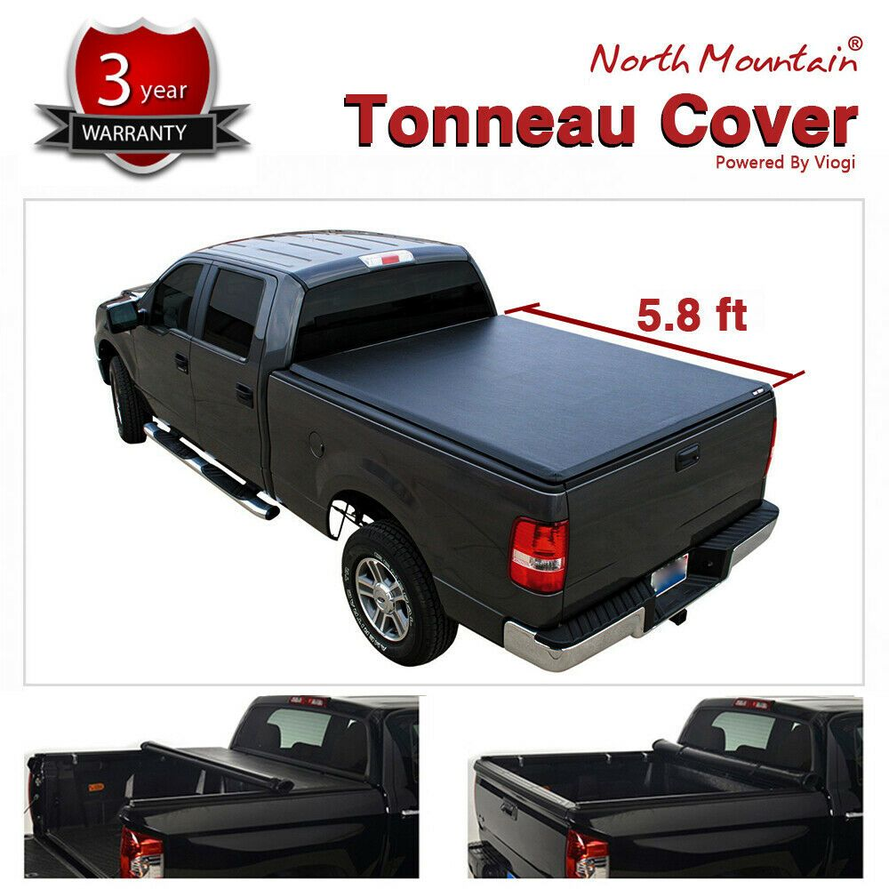 Sponsored Ebay Soft Vinyl Roll Up Tonneau Cover Fit 04 07 Silverado Sierra 5 8 Fleetside Bed Tonneau Cover Folding Tonneau Covers Vinyl Rolls