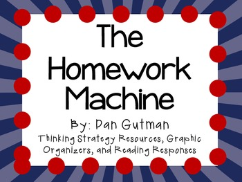 the homework machine by dan gutman setting