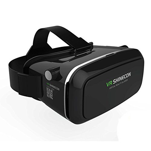 aa46bd304fa Joso 360 Degree Panorama View 3D VR Headset Glasses Virtual Reality Mobile  Phone 3D Movies Free VR Games for Android iOS Apple Mobile Phones 40 60  Inch ...