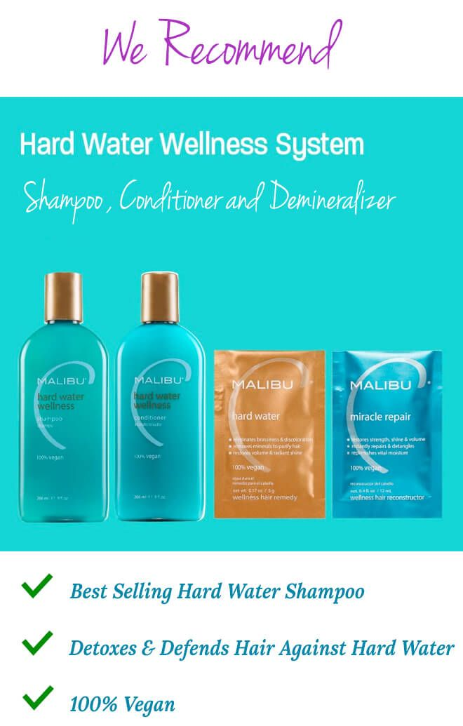 Best shampoo to use with hard water